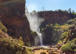 Photo des cascades d'Ouzoud proche de Marrakech, au Maroc