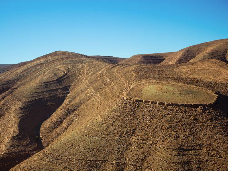 Photo des montagnes de l'Atlas à proximité de Marrakech, au Maroc