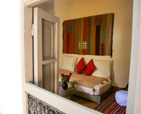 Photo de la chambre Rkia dans un riad à Marrakech au Maroc